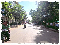 Straße in Siem Reap