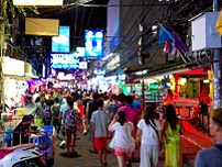 Die Walking Street in Pattaya