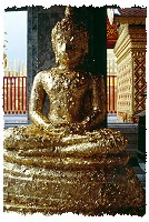 Der Wat Doi Suthep in Chiang Mai